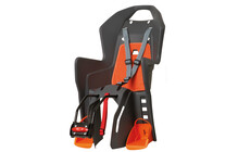 Polisport Koolah grau mit orangem Kissen